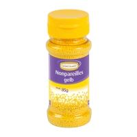 12 St. Streudekor, Zucker-Nonpareille, gelb 85 g / St.