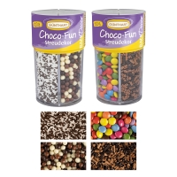 8 St. Streudekor Choco-Fun