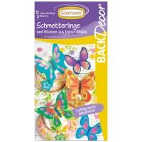 15 St. Oblaten-Schmetterlinge und Blumen