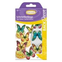 15 St. Dekorschilder Schmetterlinge
