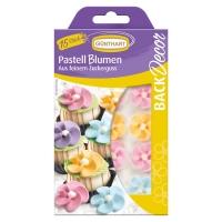 15 St. Zucker-Pastell Blumen