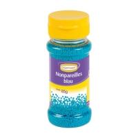 12 Streudekor Zucker Nonpareilles, blau, 85 g