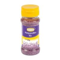 12 Streudekor Zucker Nonpareilles, lila, 85 g