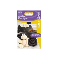 Modellier-Marzipan schwarz