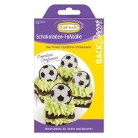 15 Schokoladen Fußbälle