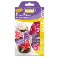 Oblaten-Rosen-Blüten