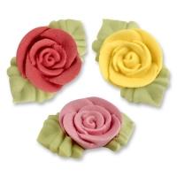 Rosen mit Blätter