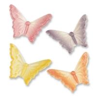 Feinzucker-Schmetterlinge, klein, sortiert