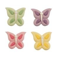 Zucker-Schmetterlinge, flach, sortiert
