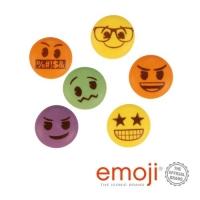 Zucker Emoji, bunt, sortiert
