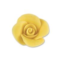 48 St. Marzipan-Rosen, klein, gelb