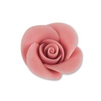 48 St. Marzipan-Rosen, klein, rosa