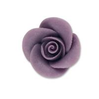 48 St. Marzipan-Rosen, klein, lila