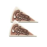 120 St. Spezialitäten-Dekor  Cappuccino  aus Dekormasse