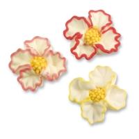 96 St. Zucker-Blumen sortiert