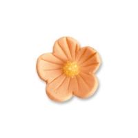 96 St. Feinzuckerblumen klein lachs-orange