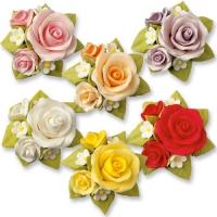 Rosen-Bouquet, bunt