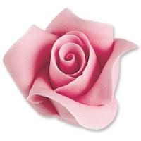 12 St. Tragantzucker Rosen pink, groß