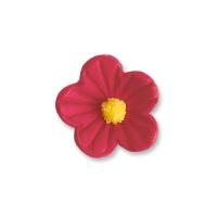 96 St. Feinzuckerblumen klein rot