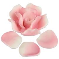 33 St. Feinz.Rosen&Blätter,rosa,sort