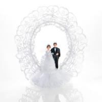 4 St. Brautpaar-Aufsatz