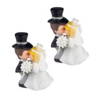 5 St. Küssendes Brautpaar