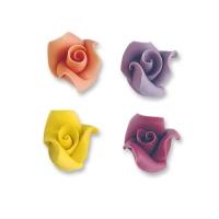 24 St. Marzipan-Rosen, gemischt, klein