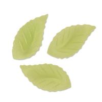500 St. Oblaten-Blätter grün, klein