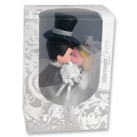 1 St. Porzellan-Brautpaar im Sichtkarton