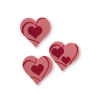 160 St. Herzen, Ruby Schokolade, sortiert