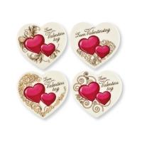 12 St. Dekor-Herzen  Zum Valentinstag