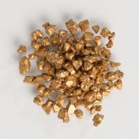 1 St. Streudekor, Mini-Schoko-Nuggets, gold, 500 g