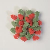 Streudeko Tannenbäumchen grün & rot