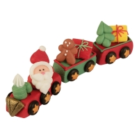 Zucker-Nikolaus im Zug