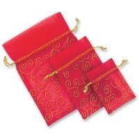 Organza-Säckchen, rot