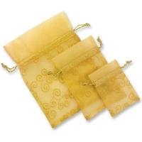 Organza-Säckchen, gold