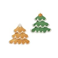 Zucker Weihnachtsbaum, flach, sortiert