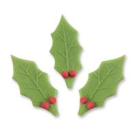 100 St. Ilex-Blätter mit Beeren