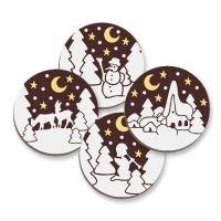 """Schokoladen-Dekor """"Weihnachten"""""""