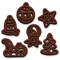 240 St. Schokoladen-Filigrane  Weihnachten