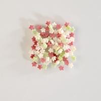 Streudekor, Mini-Zucker-Sterne bunt im Kunststoffeimer