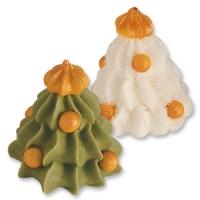 48 St. Weihnachtsbaum, 3D, grün und weiß