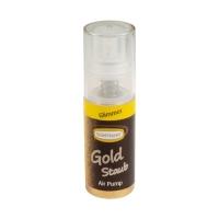 1 St. Pumpspray Glimmer-Gold, Lebensmittelfarbstoff