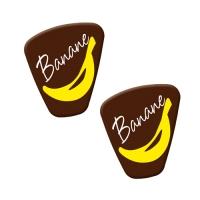"""Spezialitäten-Dekor """"Banane"""""""