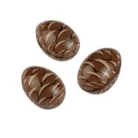 Schokoladen Tannenzapfen hohl, 3D, dunkle Schokolade
