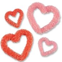 96 St. Herzen, rot, rosa, groß, klein