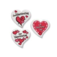 60 St. Dekor-Herzen  Zum Valentinstag , klein