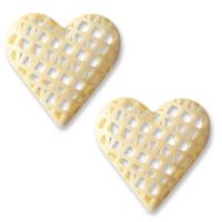 Herz, weiße Schokolade