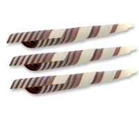 Turitella, weiße und dunkle Schokolade