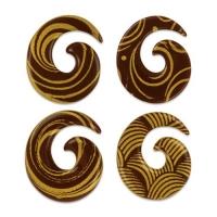 Kringel gold, dunkle Schokolade, sortiert